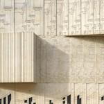 Zeichnungen im Beton verweisen auf die Funktion des Museums für Architekturzeichnungen. Bilder: Roland Halbe