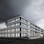 Neubau einer Hauptniederlassung in München von OSA Ochs Schmidhuber Architekten.
