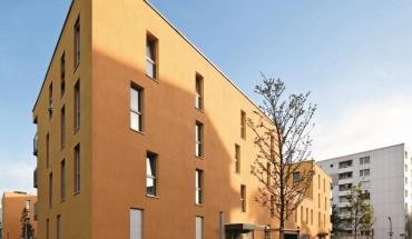 Planblockstein für Neubau eines Mehrfamilienhauses in München