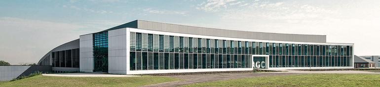 Neubau der AGC-Zentrale. Bilder: AGC Glass Europe
