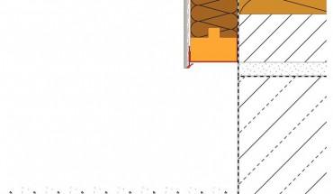 Fassadendämmung und Perimeterdämmung: Schnittstelle Gebäudesockel.