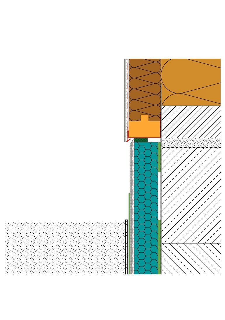 Fassadend mmung schnittstelle geb udesockel vom erdreich bis zur sockelschiene - Abdichtung bodenplatte wand ...