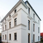 Wenn die Fassade erhalten werden soll: Wandheizung plus Innendämmung
