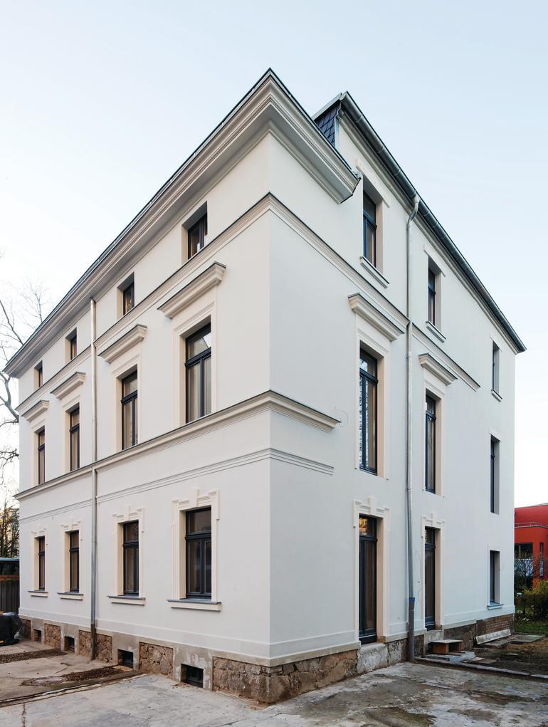 Wenn die Fassade erhalten werden soll: Wandheizung plus Innendämmung.