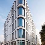 """Neubau des Bürokomplexes """"Silizium"""" in Düsseldorf von HPP Architekten"""