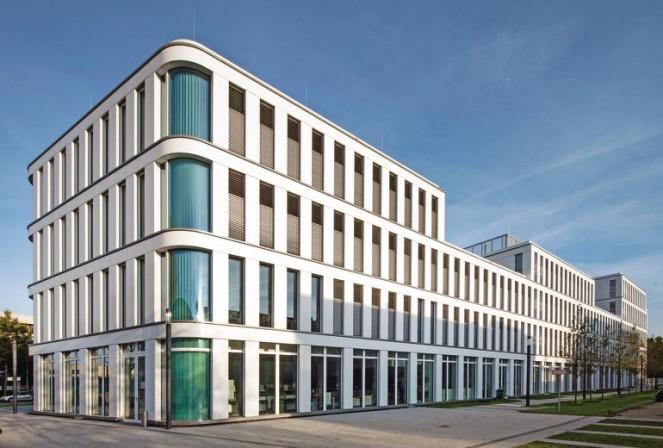 Neubau des b rokomplexes silizium in d sseldorf dynamische eleganz - Dynamische architektur ...