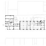 Grundriss Erdgeschoss (oben) und Grundriss erstes Obergeschoss (unten).