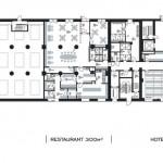 Grundriss EG. Zeichnungen: Schmucker u. Partner Architekten, Mannheim