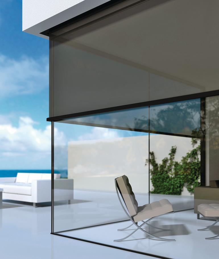 sonnenschutz ber eck. Black Bedroom Furniture Sets. Home Design Ideas