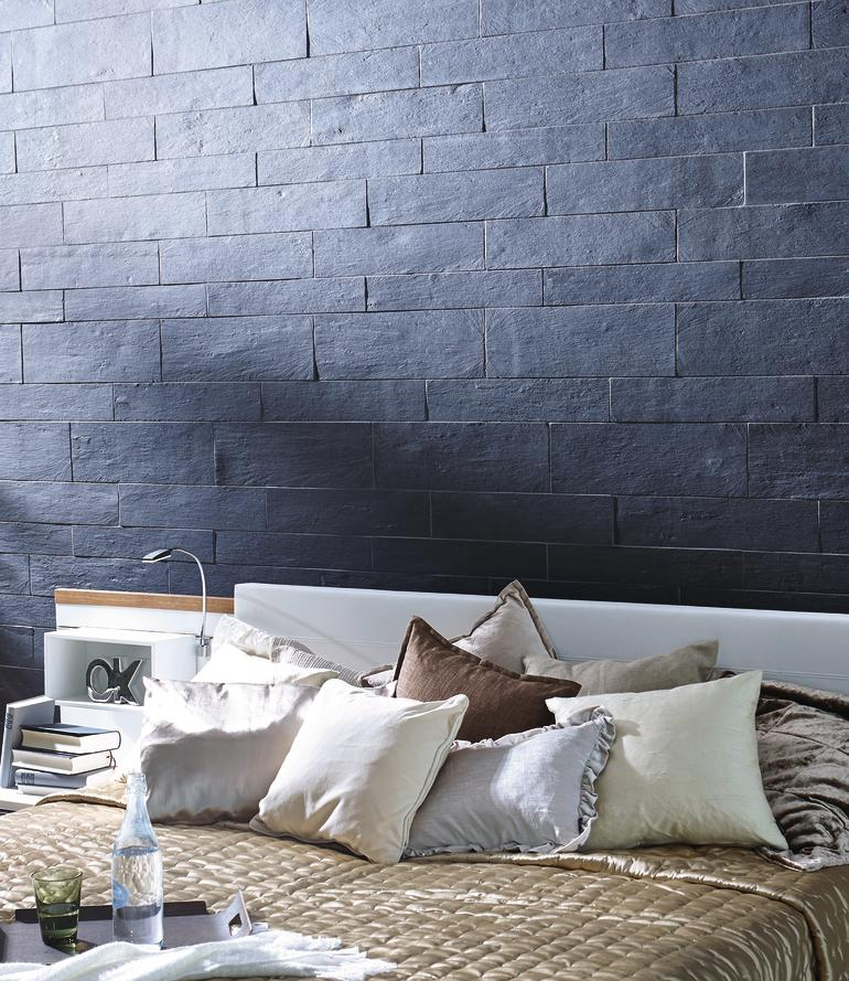 schiefer f r die wand und bodengestaltung. Black Bedroom Furniture Sets. Home Design Ideas