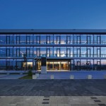 System-Trennwände für Neubau eines Bürogebäudes in Rülzheim