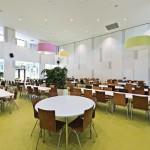 Freundlich gestaltete Räume sorgen für optimalen Lernerfolg. Bilder: Fermacell GmbH