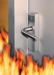 Feuerhemmende tür  DIN-konforme feuerhemmende Tür