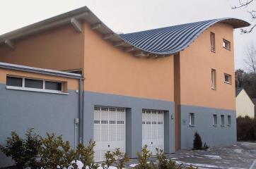 wohngeb ude in eppelborn in hessen alte abdichtung auf neuem dach. Black Bedroom Furniture Sets. Home Design Ideas