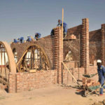 Bauarbeiten in Simbabwe