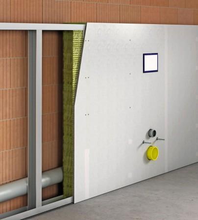ausbau von feuchtr umen in trockenbauweise ruhe im sanit rbereich. Black Bedroom Furniture Sets. Home Design Ideas
