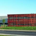 Neubau eines Verwaltungsgebäudes der Firma Eleq in Kerpen. Bilder: Axel Hartmann