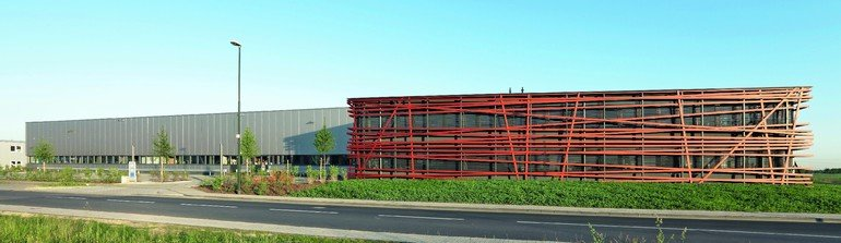 Neubau eines Verwaltungsgebäudes der Firma Eleq in Kerpen