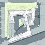 Lageplan. Zeichnung: Holodeck architects