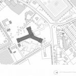 Lageplan. Zeichnung: Atelier Kempe Thill