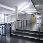 Das neue Treppenhaus mit ebenerdigem Zugang. Bild: Michael Schnell