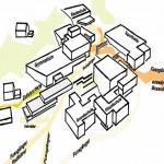 Lageplan. Zeichnungen: Liebel/Architekten