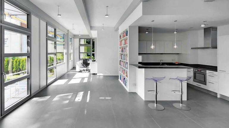 neue l sungsans tze f r fliesenverlegung gro formatig auf trockenestrich. Black Bedroom Furniture Sets. Home Design Ideas