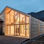 BauBuche für Werkstatt und Ausstellungsraum im Bregenzerwald
