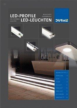 Dural-Prospekt über LED-Leuchten.