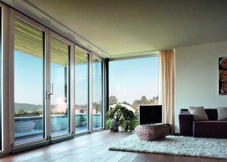 Große Formate und schmale Profile von Kneer-Südfenster. Bild: Kneer-Südfenster