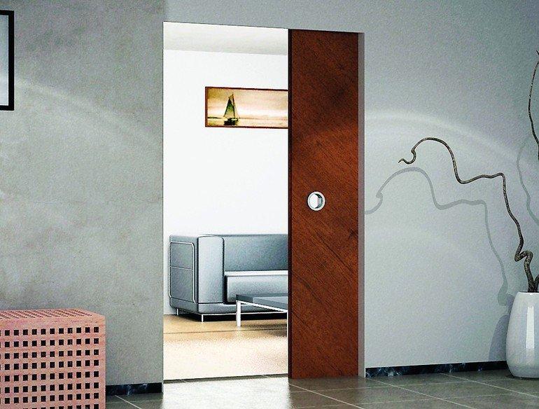 Schiebetüren von Rubner Türen: Maßfertigung in Edelholz. Bilder: Rubner Türen