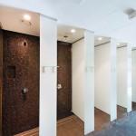 Das Fitness- und Wellness-Studio Frankfurter Turm-Carree mit dauerhaft hoher Luftfeuchtigkeit ist mit zementgebundenen Bauplatten ausgebaut. Bild:Fermacell GmbH