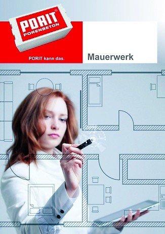 Broschüre zum Thema Porenbeton-Mauerwerk