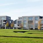 Faserzementtafeln für Neubau einer Wohnanlage in Stuttgart. Bilder: Conne van d'Grachten, Ulm