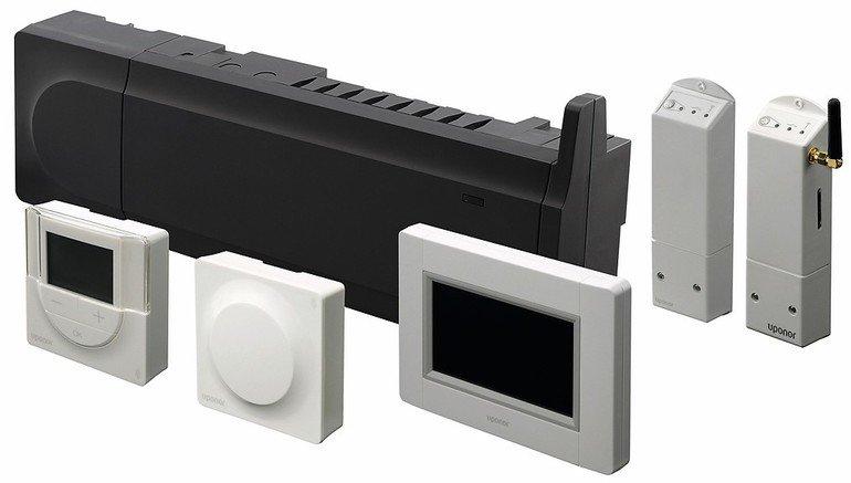 Smatrix: Regelungssystem für Flächenheizung und -kühlung.