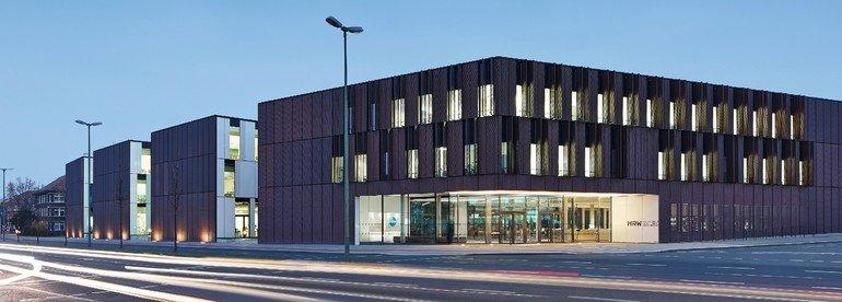 Neubau der Hochschule Ruhr-West in Bottrop. Alle Bilder: Zooey Braun