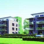 Neubau einer Wohnanlage: U-Wert deutlich unterschritten. Bild: KLB-Klimaleichtblock / Reppco Architekten