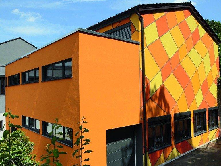 Edelputze für individuelle Fassadengestaltung. Bild: quick-mix