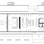Das Gebäude mit offenem Grundriss ist in verschiedene Funktionsbereiche unterteilt. Zeichnungen: Ott Architekten