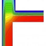 Wärmeverluste durch einen Attika-Anschluss mit umlaufender Dämmung. Bild:Schöck