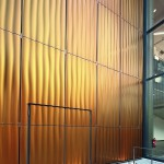 Die Farbgebung erzeugt in Kombination mit 3D-Struktur und Perforation einen besonderen Materialausdruck. Bild: © Conné van d´Grachten/HD Wahl