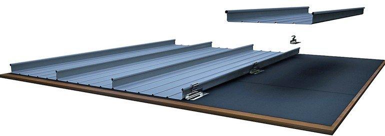 Bemo Systems und VMZINC haben ein neuartiges Profilsystem aus Titanzink fürs Metalldach entwickelt.