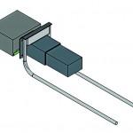 3D-Modell eines beweglichen Bolzens. Bild: H-Bau Technik GmbH