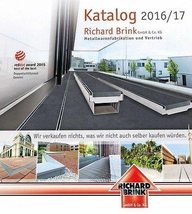 Katalog 2016/17. Bild: Richard Brink GmbH + Co. KG