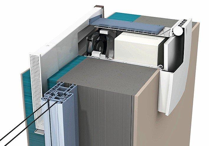 Lüftungssysteme mit Design-Abdeckung. Bild:Ventomaxx GmbH