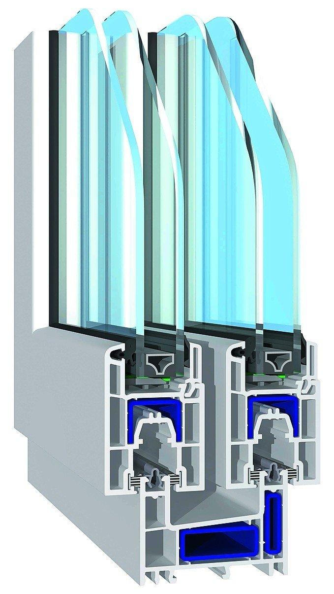 Profil für Schiebefenster und Schiebetüren von Salamander. Bild: Salamander Industrie-Produkte