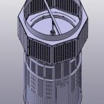 3D-Modell eines Ventils. Bild: LTG