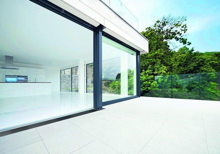 Drainrost für Terrassen- und Balkonentwässerung