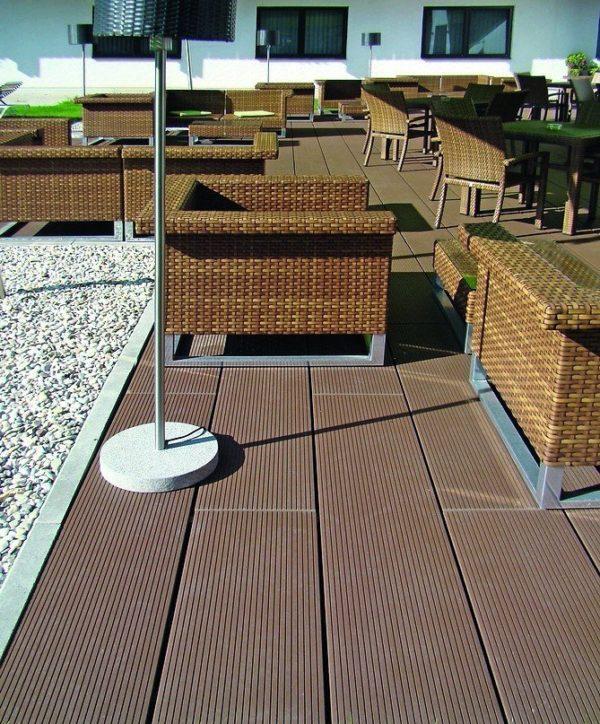 Keramikplatte für exklusive Terrasse. Bild: Gima, Girnhuber GmbH