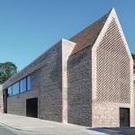 Regionaltypischer Backstein prägt die Fassadengestaltung des Neubaus vom Europäischen Hansemuseum in Lübeck. Bilder: Richard Brink GmbH & Co. KG